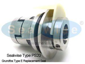 Mechanical Seal สำหรับใช้ทดแทน แมคคานิคอลซีล Type E ปั๊ม Grundfos